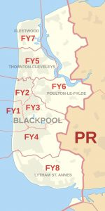 Blackpool Map
